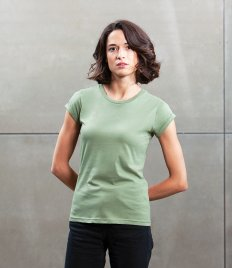Mantis Ladies Roll Sleeve T-Shirt