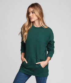Next Level Unisex Crew Neck Pocket Sweatshirt