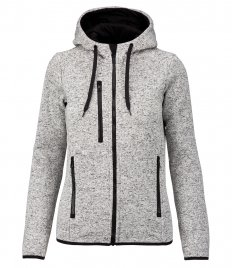 Proact Ladies Heather Hooded Jacket