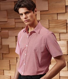 Premier Gingham Short Sleeve Shirt
