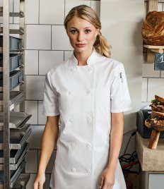 Premier Ladies Short Sleeve Chef