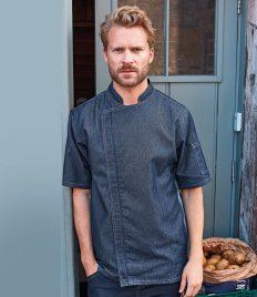 Premier Short Sleeve Zipped Chef