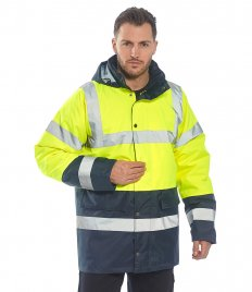 Portwest Hi-Vis Contrast Traffic Jacket