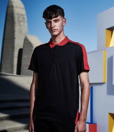 Regatta Contrast Quick Wicking Piqué Polo Shirt