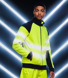 Regatta Hi-Vis Pro Contrast Fleece Jacket