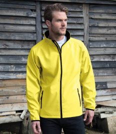 Result Core Printable Soft Shell Jacket