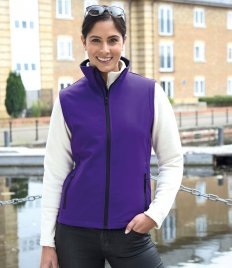 Result Core Ladies Printable Soft Shell Bodywarmer
