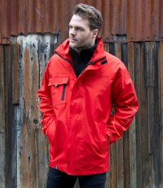Result Core Printable 3-in-1 Transit Jacket