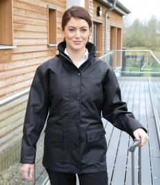 Result Work-Guard Ladies Platinum Managers Jacket