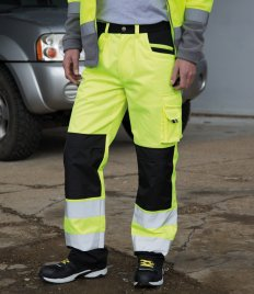 Result Safe-Guard Hi-Vis Cargo Trousers