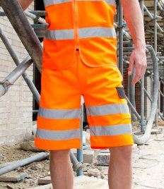 Result Safe-Guard Hi-Vis Cargo Shorts