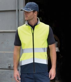 Result Safe-Guard Printable Safety Soft Shell Gilet