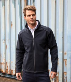 Result Work-Guard Treble Stitch Soft Shell Jacket