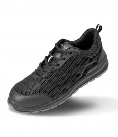 Result Work-Guard All Black Safety Trainers