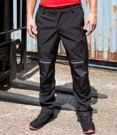 Result Work-Guard Slim Fit Soft Shell Trousers