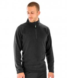 Result Genuine Recycled Zip Neck Micro Fleece