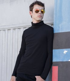 SF Men Feel Good Stretch Roll Neck Top