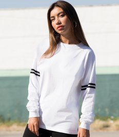 SF Unisex Drop Shoulder Slogan Top