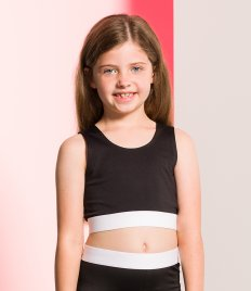 SF Minni Kids Fashion Crop Top