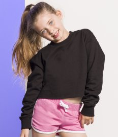 SF Minni Kids Cropped Slounge Sweatshirt