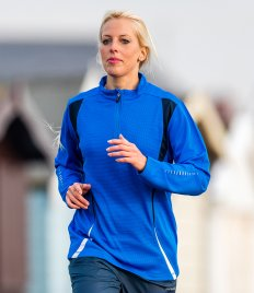 Spiro Zip Neck Trial Training Top