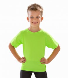 Spiro Kids Impact Performance Aircool T-Shirt