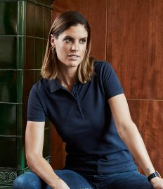 Tee Jays Ladies Heavy Cotton Piqué Polo Shirt