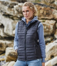 Tee Jays Ladies Crossover Padded Bodywarmer