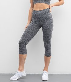 Tombo Ladies Seamless Cropped Leggings