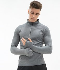 Performance Tops - Zip Neck