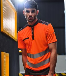 Tactical Threads Hi-Vis Piqué Polo Shirt