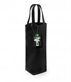 Westford Mill Fairtrade Cotton Bottle Bag