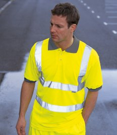 Dickies Hi-Vis Polo Shirt