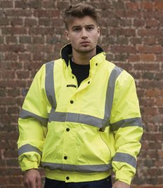 Warrior Memphis Hi-Vis Bomber Jacket