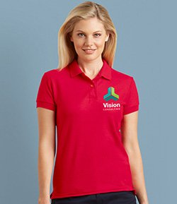 Embroidered Polo Shirts from Revolution